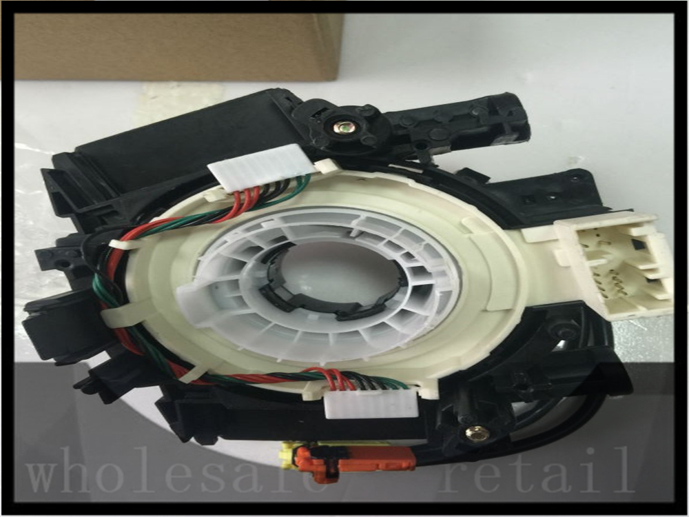 free shipping double plug Spiral Cable Clock Spring Assy For Nissan 2007 11 Versa 2006 08