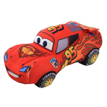 20cm Model Racing Cars  95 number plush toys for children kids gift birthday present anime doll