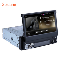 Seicane Android 6.0 7inch 1Din Car Stereo Audio CD DVD Player Radio HD Tochscreen GPS Navigation System