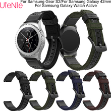 20mm Watch Strap For Samsung Gear S2/Galaxy 42mm watch band Galaxy Active smart bracelet accessories
