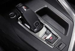 Wnętrze skrzynia biegów dekoracja paneli pokrywa zgrabna 1 sztuk dla Peugeot 3008 GT 2016 2018 w Chromowane wykończenia od Samochody i motocykle na