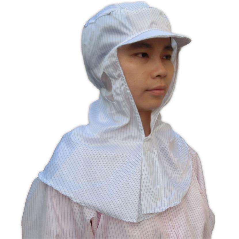 Anti estática proteção poeira tampa da cabeça pintura eletrônica - Segurança e proteção - Foto 2