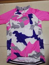 2016 Women Cycling Jersey Camouflage Short Sleeve Bike Jersey Bicycle Clothing For Summer