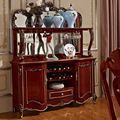 European Sideboard  Cabinet  With Mirror