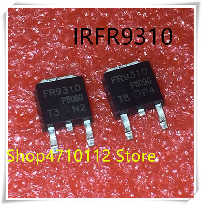 NEW 10PCS LOT IRFR9310 FR9310 9310 400V 1 8A TO 252 IC