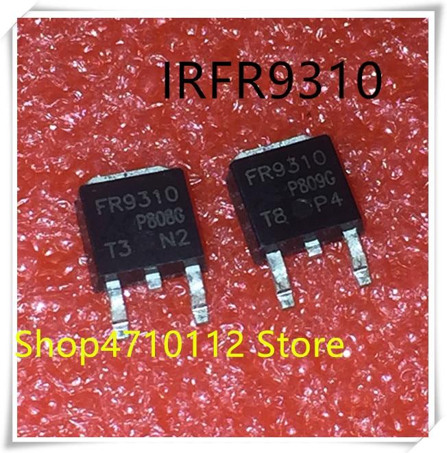NEW 10PCS/LOT IRFR9310 FR9310 9310 400V 1.8A TO-252 IC