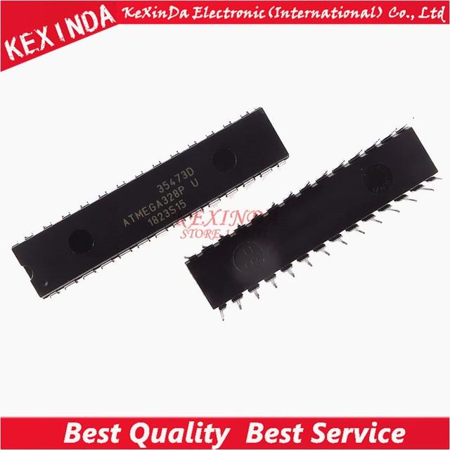ATMEGA328P-PU ATMEGA328P DIP-28  IC 10pcs/lot Free Shipping