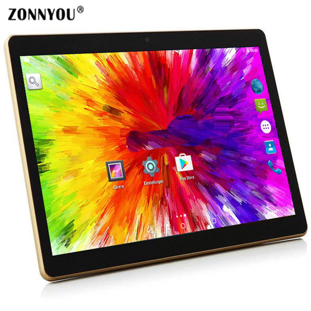 10/1 inches Tablet PC Android 7.0 3G Phone Call OCTA-Core 4GB Ram 32GB Rom Built-in 3G Bluetooth Wi-Fi GPS Tablet 10.6