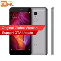 Глобальная версия Xiaomi Redmi Note 4 мобильный телефон 3 ГБ Оперативная память 32 ГБ Встроенная память Snapdragon 625 Octa core Процессор 5.5 1080 P Дисплей 13MP FCC CE