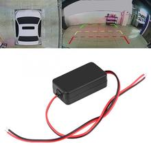 160V~260V 12V Filter Rectifier DC Car Rearview Camera Power Relay Capacitor Filter Rectifier Ballasts Rearview Camera Filter цена и фото