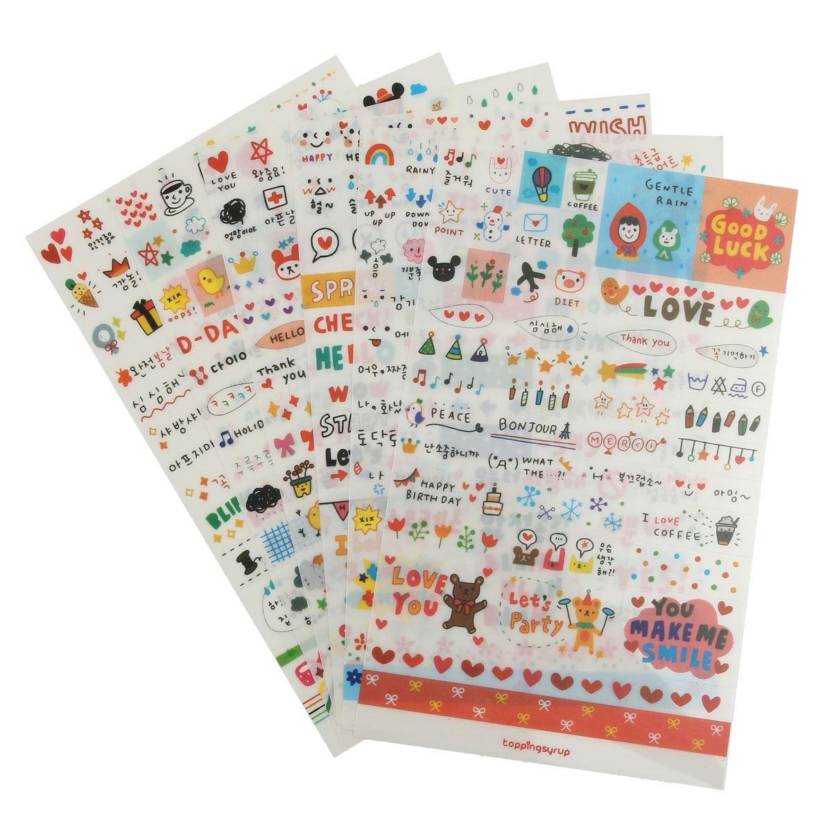 Scrapbook paper books - Aliexpress Com Buy 6 Sheets Pack Cute Diy Word Expression Diary Album Diy Scrapbooking Paper Sticker Book Calendar Card Scrapbooking From Reliable