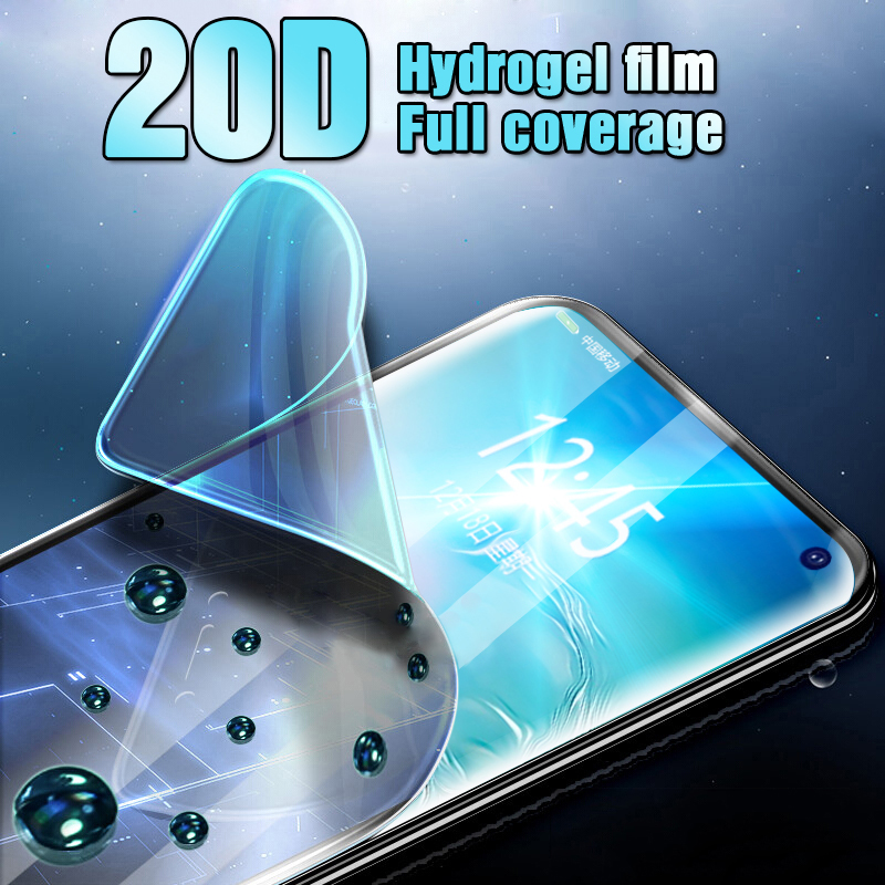 20D Full Curved Hydrogel Film For Samsung Galaxy S10E S9 S8 S10 Plus Safety film For Samsung S7edge Note 8 9 Film Not Glass-in Phone Screen Protectors from Cellphones & Telecommunications