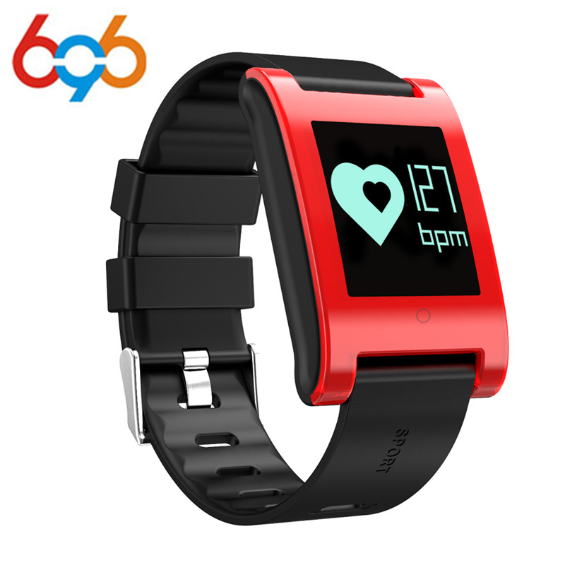 2017 New DM68 Smart Bracelet Blood Pressure Heart Rate Monitor Bluetooth Call SMS Alert Smart Band Activity Fitness Trac