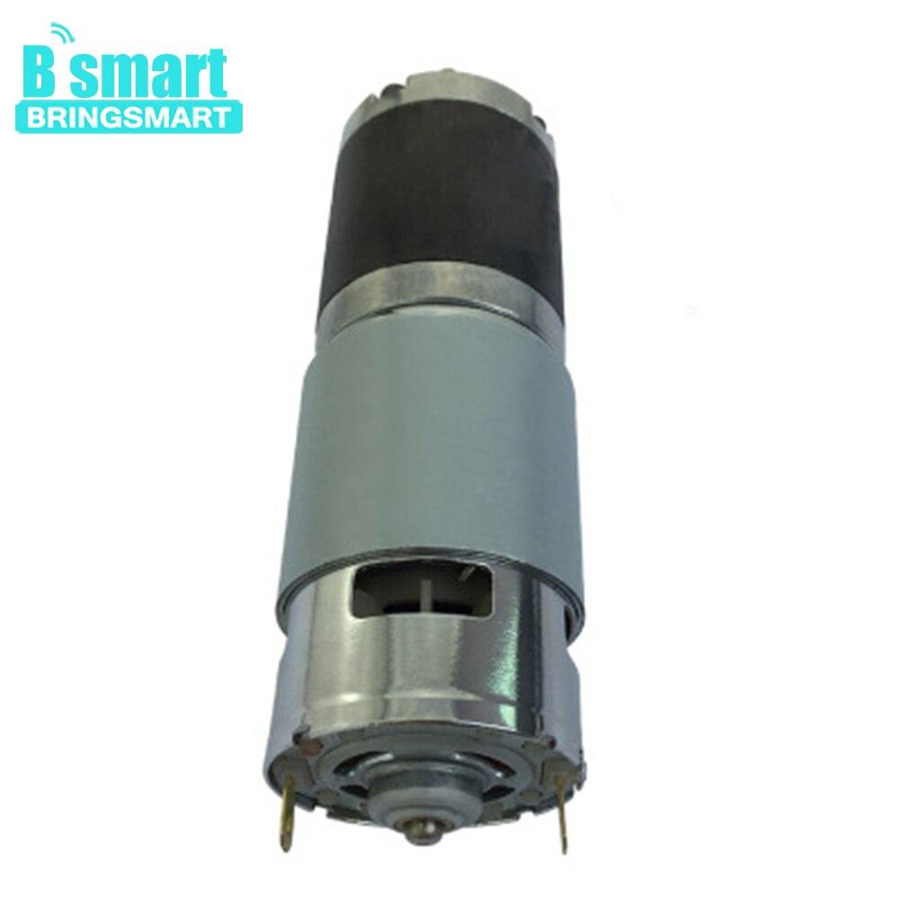 Moteur à engrenages planétaires à faible bruit de couple élevé de Bringsmart avec la boîte de vitesse de 42mm
