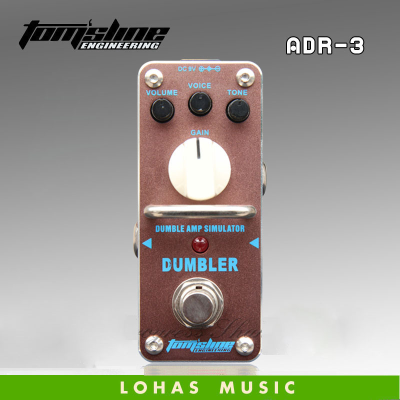 Hot saleTOM'SLINE ADR-3 DUMBLER Brand classics / Dumbler Sound simulation / Guitar effects pedal alternative dispute resolution adr