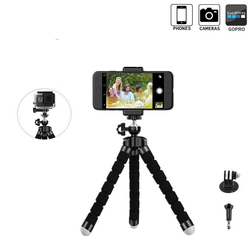 Мини Гибкая Губка Осьминог штатив для iPhone samsung Xiaomi huawei смартфон штатив стенд держатель для Gopro Камера DSLR крепление