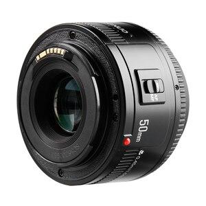 """Image 5 - YONGNUO YN 50 מ""""מ עדשת פוקוס אוטומטי עדשה 50 מ""""מ צמצם גדול F1.8/f1.8 לcanon EOS מצלמות DSLR"""