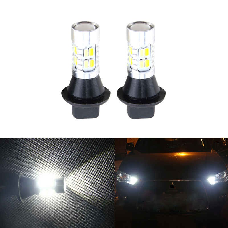 Switchback Led Turn Signal Lamps W/ DRL Daylights Function For Mitsubishi Lancer Evolution EX 10-15 T20 7440 Canbus No Error ветровики prestige mitsubishi lancer 10 sd hb 07