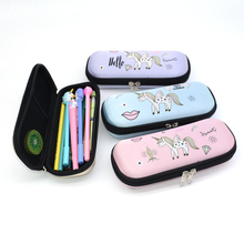 pencil case unicorn kawaii school etui trousse scolaire cartuchera para lapices girls lapiceras estuche escolares kalem kutusu