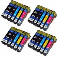 20 Kartrid Tinta (Set) untuk Epson Ekspresi XP-520 XP-610 XP-625 XP-720 XP-820