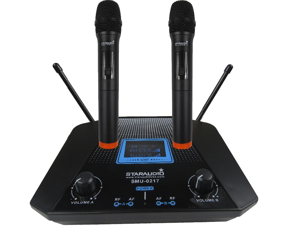 STARAUDIO  Pro DJ Stage Club Church Party Karaoke Dynamic 2CH UHF Wireless Handheld Microphone System  SMU-0217A towards chereme based dynamic sign language gesture recognition system
