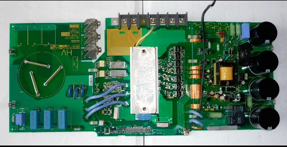 Series inverter M440 5.5kw power webmaster board used 5.5kw inverter drive board teardown rint 6411c drive webmaster board acs800 series inverter 690 660v power board