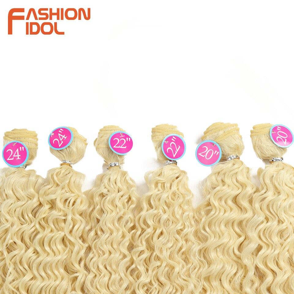 pacotes 613 loira cor extensões de cabelo