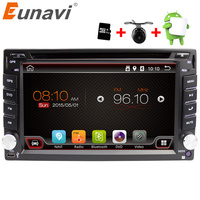 Eunavi Universal 2 Din Android 6.0 Coches Reproductor de Dvd GPS + wifi + bluetooth + radio + quad Core + ddr3 + Pantalla Táctil Capacitiva + Pc del coche + stereo
