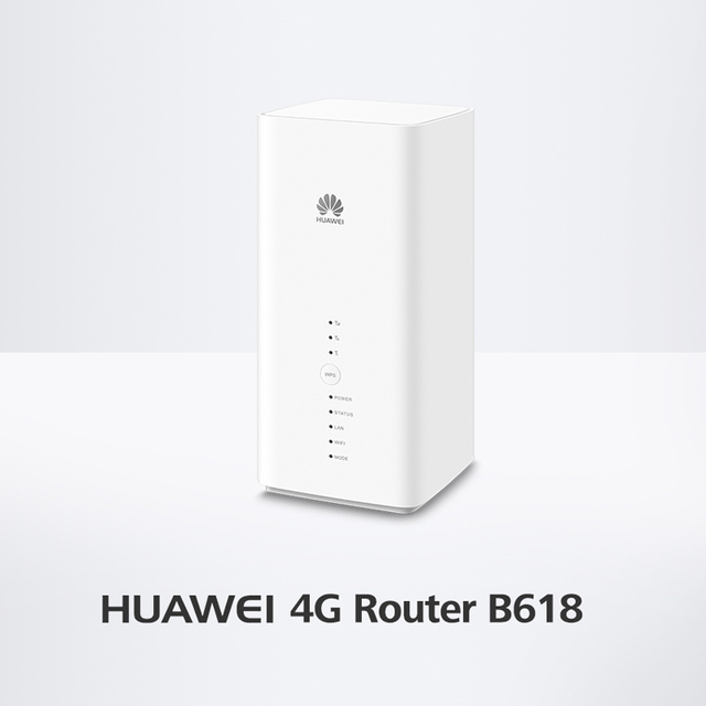 Huawei B618s-65d 4G LTE 4G LTE Band 1/3/5/7/8/28/40 (FDD 700/850/900/1800/2100/2600MHz & TDD 2300MHz) VoIP CPE Wireless Router