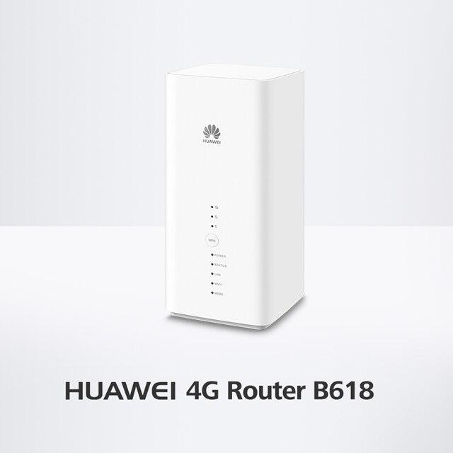 Huawei B618s-65d 4G LTE 4G LTE banda 1/3/5/7/8/28 /40 (FDD/700/850/900/1800/2100/2600 MHz y TDD 2300 MHz) voIP CPE Router inalámbrico