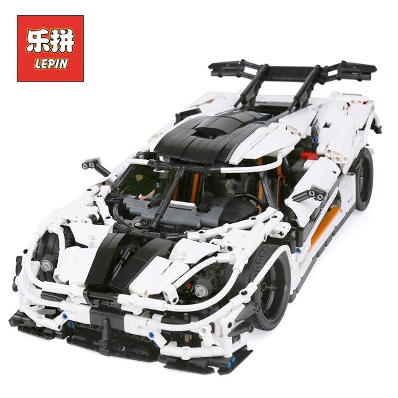 In Stock Lepin Sets 23002 3236Pcs Technic Figures The MOC-4789 Changing Racing Car Model Building Kits Blocks Bricks Educational цена