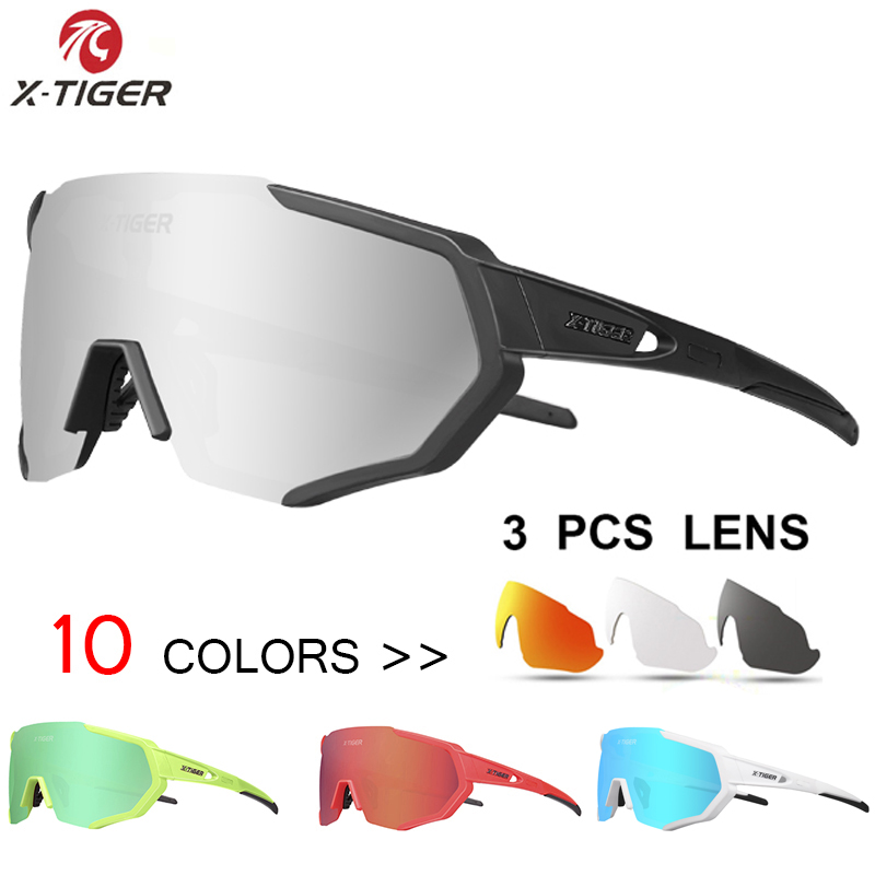 X-TIGER 2019 Polarized Cycling Sun Glasses Outdoor Sports Bicycle Men Women Frame