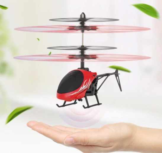 طائرة بدون طيار صغيرة RC الطائرة بدون طيار كوادكوبتر التحكم عن بعد RC هليكوبتر الأشعة تحت الحمراء التعريفي مصباح ليد التحكم عن بعد لعبة أطفال لعبة هدية