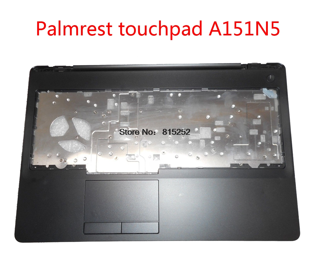 Laptop Palmrest For <font><b>DELL</b></font> For Latitude E5570 For Precision <font><b>3510</b></font> Touchpad A151N5 A151N6 0MM40T MM40T 00DMNR 0DMNR upper case new image