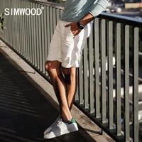 SIMWOOD 2017 Summer Denim Shorts Men Hole 100 Pure Cotton Ripped Brand Clothing Pocket Brand Clothing