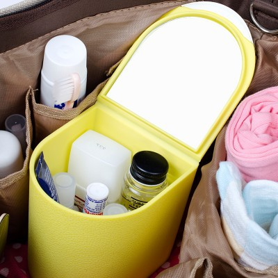 Free shipping fashion Mini make up box mini clamshell box storage box 10 6 9 10 3cm in Storage Boxes Bins from Home Garden
