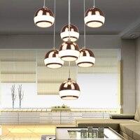 Kapalı lambalar mutfak masa yemek odası led lamba kolye küre işık led süspansiyon ışıkları modern endüstriyel aydınlatma led kolye