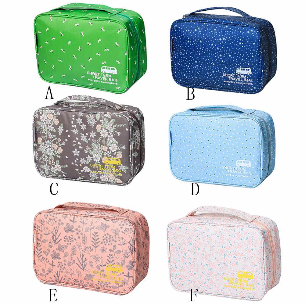 Zipper Man Women Makeup bag nylon Cosmetic bag beauty Case Portable Cosmetic Toiletry Travel Wash Pouch Storage Bag Handbag