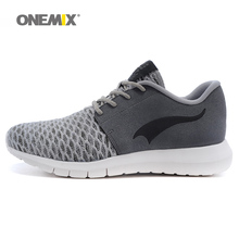 Onemix 2016 Men's running shoes Olympic lightweight sport sneakers unisex spring shoes mens outdoor athletic shoes free shipping