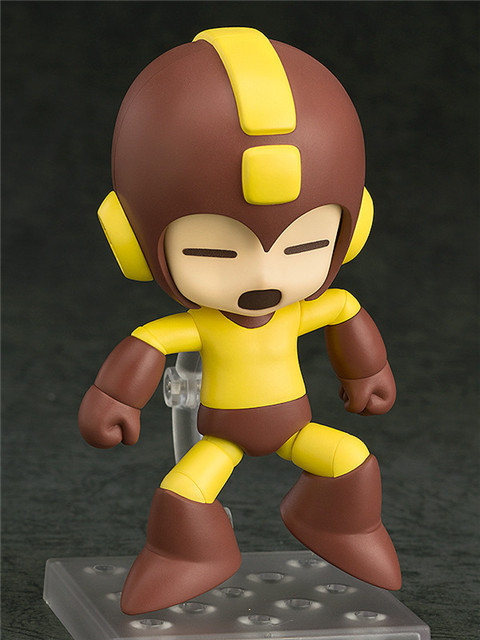 10cm Rockman Nendoroid Anime Action Figure PVC Collection Model toys brinquedos for christmas gift free shhipping