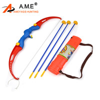 Toy Set Archery Kids With 3 Suction Arrows Shooting Games Gift Park Fun Toxophily Children Kids Practice Archery Accessories