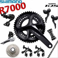 SHIMANO 105 R7000 2x11 road bike kit bicycle shifter sprocket kit bicycle derailleur chain crank bicycle parts drive kit