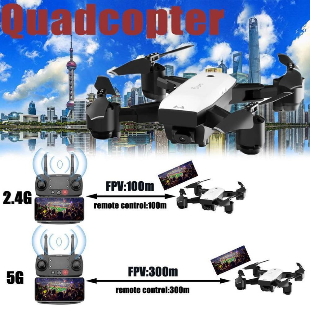 SMRC S20 S20W RC Drone Toys With 110 Degree Angle HD Camera  6 Axles Gyro GPS 2.4G Altitude Hold RC Quadcopter 2/3Pcs Batteries