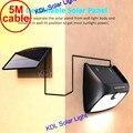 48 LED 900lm Солнечный внутренний свет PIR радар движения Смарт светодиодные Настенные светильники от Waterpro до 5 м кабель уличная стена Наружный св...