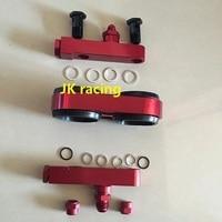 JK мотор заготовка алюминиевая сборка двойной 044 топливный насос впускной и выходной коллектор с монтажным кронштейном