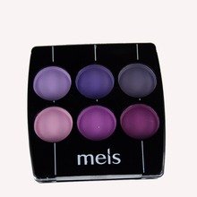 MEIS Brand Makeup Cosmetics Professional Makeup 6 Colors Eye Shadow Eyeshadow Palette Matte Eyeshadow Eye Shadow Palette MS0619
