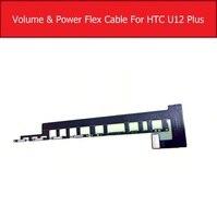 Em fora de energia & botão de volume cabo flexível para htc u12 plus 12 + u12plus interruptor de volume de energia flex fita peças substituição