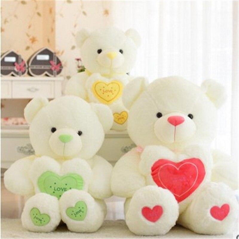 60 CM 2016 mignon étreinte amour ours PP coton peluche poupée ours en peluche enfants jouets cadeaux d'anniversaire beau présent 3 couleurs