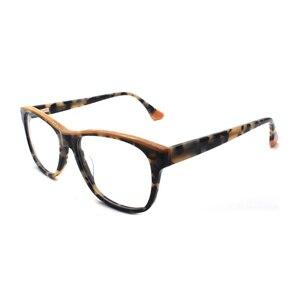 Image 3 - HOTOCHKI New High Quality Optical Unisex Large Elegant Eyewear Acetate Glasses Frames Men Women Fashion Big Box Eyeglasses Frame