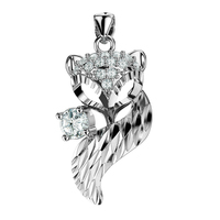 Women Silver Girls nickles women reiki pendants jewelry fox